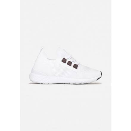 White Women's sports shoes JB059-71-white