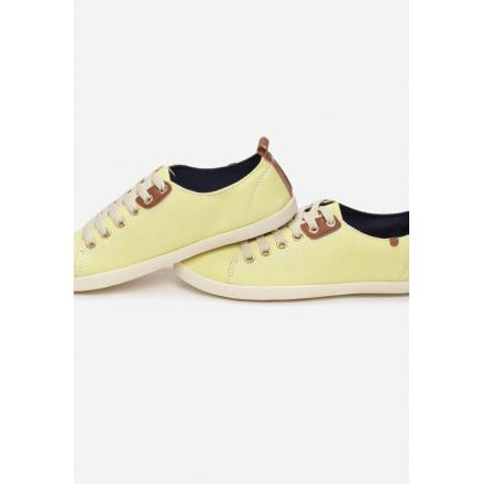 Yellow Women's Sneakers B604-26-49-yellow