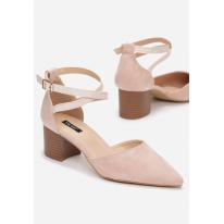 Różowe Czółenka Damskie 3399-45-pink