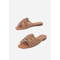 Beige women's slippers 3353-42-beige