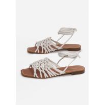 White women's sandals 3355-71-white