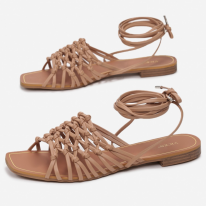 Beige women's sandals 3355-42-beige