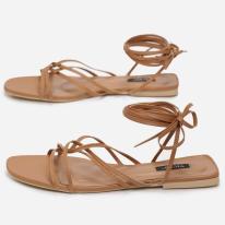 Beige women's sandals 3357-42-beige
