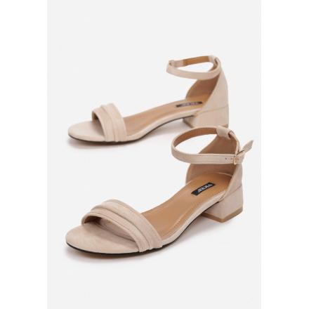 Light beige women's sandals 3383-43-l.beige