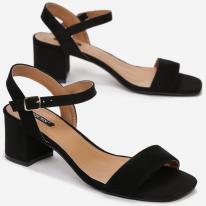 Black women's sandals 3365-38-black