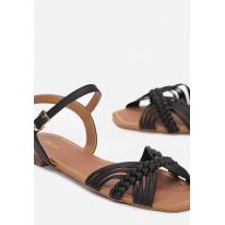 Black women's sandals 3354-38-black