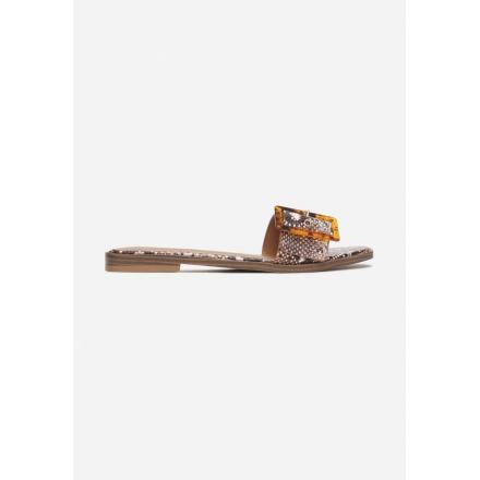 Wężowe Klapki 3359-472-snake