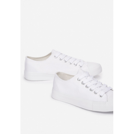 Women's white sneakers KA32- KA32-71-white