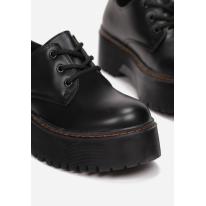 Black Half shoes 8585- 8585-38-black