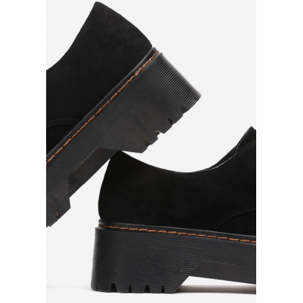 Black shoes 8585-1A 8585-1A-38-black