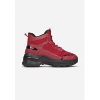 Czerwone Sneakersy 8592 8592-64-red