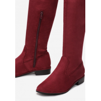 Goldmantle maroon boots T060-453-w.red